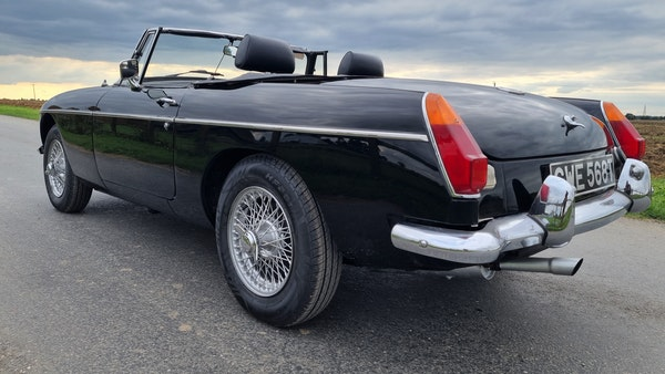 1979 MGB Roadster For Sale (picture 24 of 109)