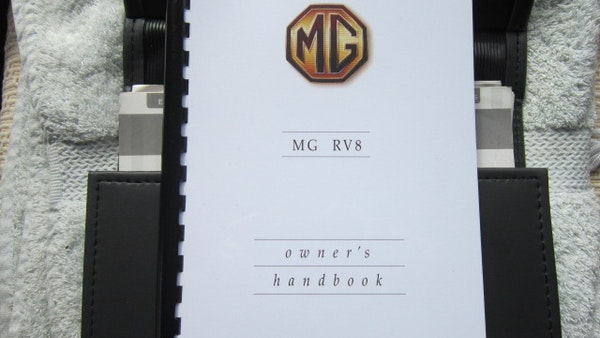 RESERVE REMOVED - 1994 MG RV8 For Sale (picture 98 of 110)