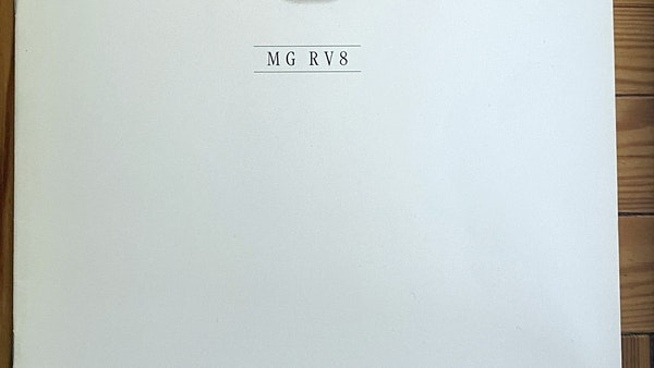 1994 MG RV8 For Sale (picture 93 of 105)