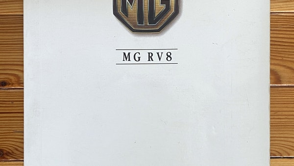 1994 MG RV8 For Sale (picture 101 of 105)