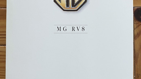 1994 MG RV8 For Sale (picture 87 of 105)