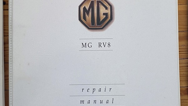 1994 MG RV8 For Sale (picture 104 of 105)