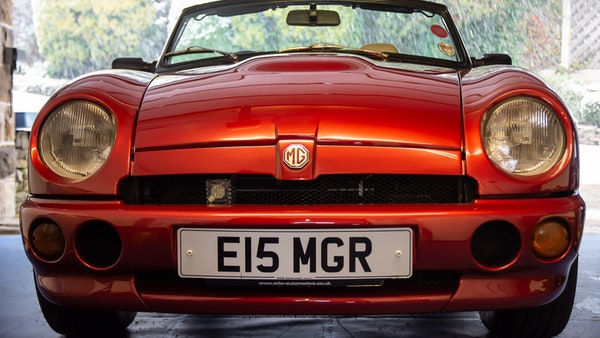 1996 MG RV8 For Sale (picture 49 of 133)