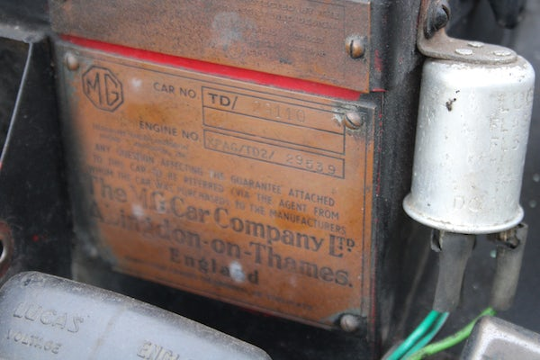 1953 MG TD For Sale (picture 81 of 102)