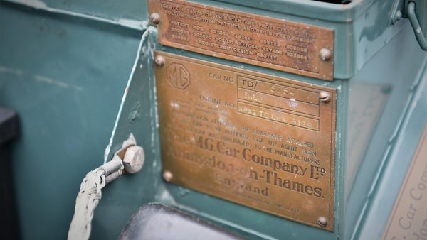 1951 MG TD For Sale (picture 67 of 138)