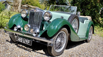 1938 MG VA Tourer