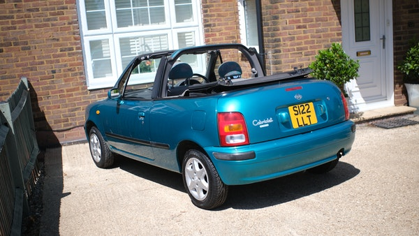 Nissan March cabriolet 1998 For Sale (picture 14 of 217)