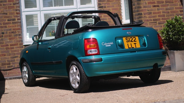 Nissan March cabriolet 1998 For Sale (picture 20 of 217)