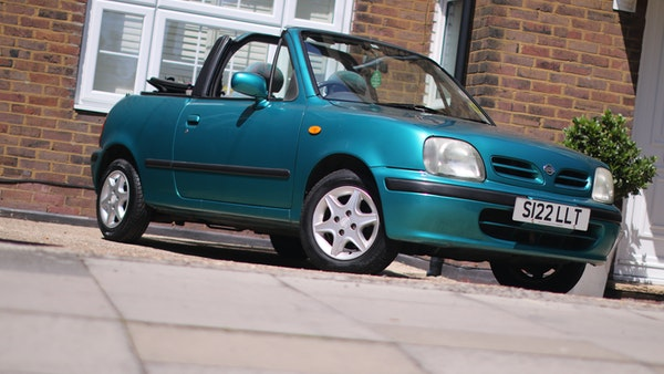 Nissan March cabriolet 1998 For Sale (picture 10 of 217)