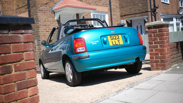 Nissan March cabriolet 1998 For Sale (picture 13 of 217)