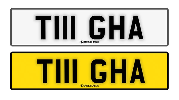 Private Reg Plate - T111 GHA For Sale (picture 1 of 3)