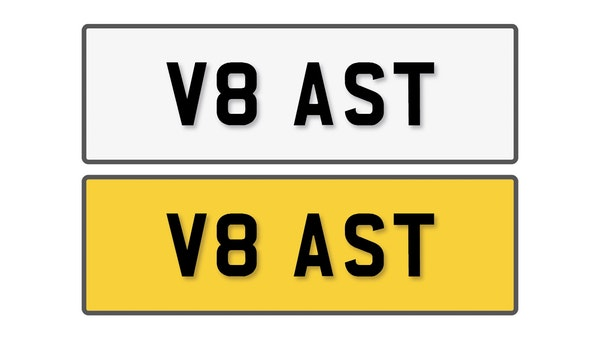 NO RESERVE! - Private Reg Plate - V8 AST For Sale (picture 1 of 4)