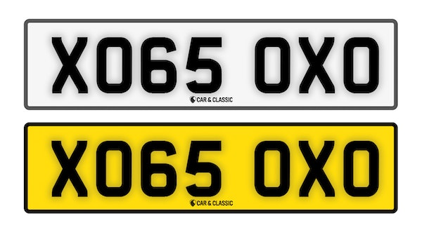 Private Reg Plate - XO65 OXO For Sale (picture 1 of 3)