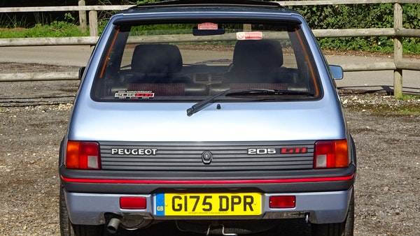 1989 Peugeot 205 GTI 1.9 For Sale (picture 23 of 161)
