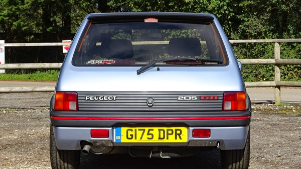1989 Peugeot 205 GTI 1.9 For Sale (picture 22 of 161)