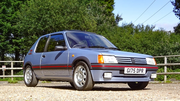 1989 Peugeot 205 GTI 1.9 For Sale (picture 9 of 161)