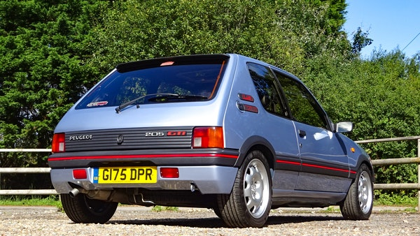 1989 Peugeot 205 GTI 1.9 For Sale (picture 12 of 161)