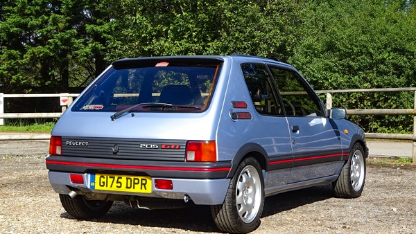 1989 Peugeot 205 GTI 1.9 For Sale (picture 13 of 161)