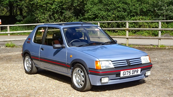 1989 Peugeot 205 GTI 1.9 For Sale (picture 11 of 161)