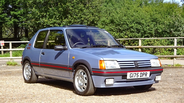 1989 Peugeot 205 GTI 1.9 For Sale (picture 10 of 161)