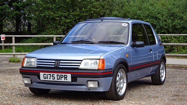 1989 Peugeot 205 GTI 1.9 For Sale (picture 4 of 161)