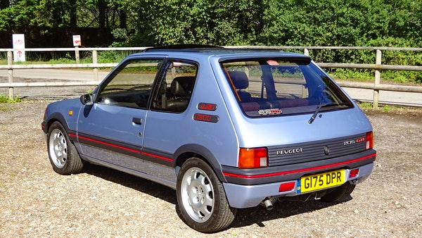 1989 Peugeot 205 GTI 1.9 For Sale (picture 8 of 161)