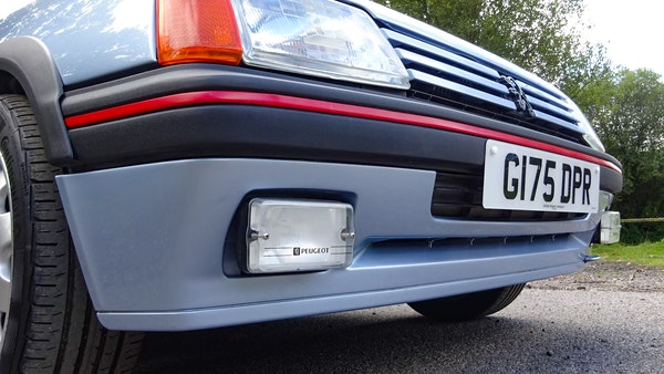1989 Peugeot 205 GTI 1.9 For Sale (picture 45 of 161)