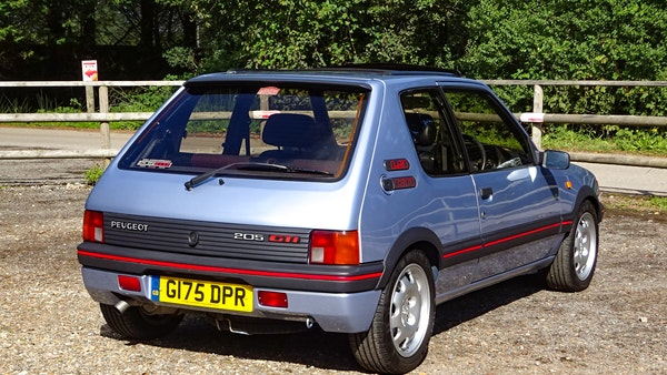 1989 Peugeot 205 GTI 1.9 For Sale (picture 14 of 161)