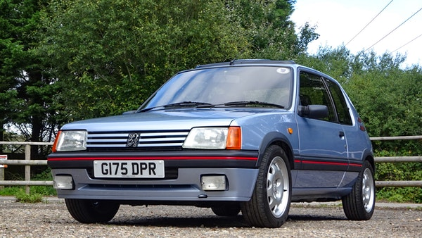 1989 Peugeot 205 GTI 1.9 For Sale (picture 3 of 161)