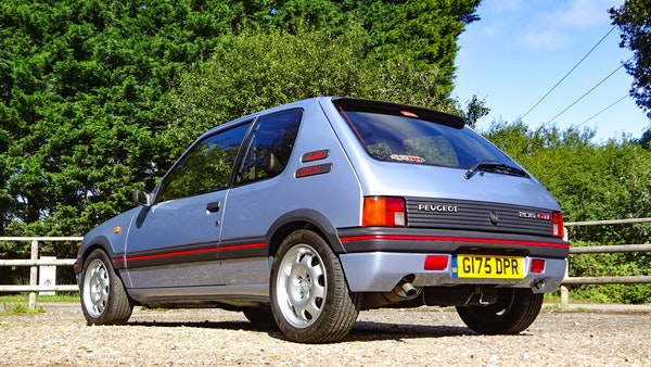 1989 Peugeot 205 GTI 1.9 For Sale (picture 6 of 161)
