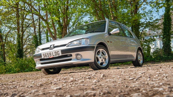 1998 Peugeot 106 GTi For Sale (picture 4 of 77)