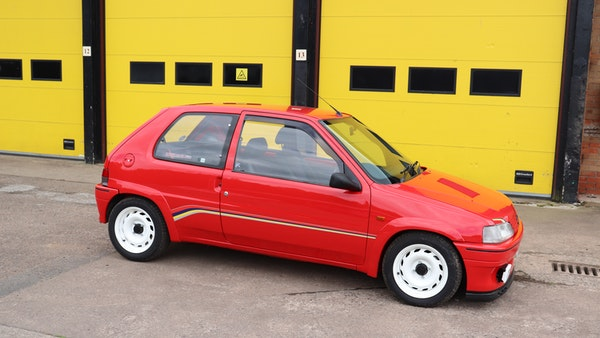 1994 Peugeot 106 Rallye For Sale (picture 3 of 93)