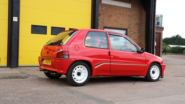 1994 Peugeot 106 Rallye For Sale (picture 15 of 93)