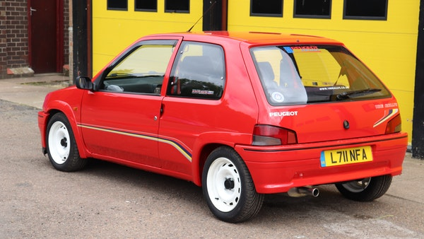 1994 Peugeot 106 Rallye For Sale (picture 12 of 93)