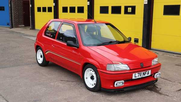 1994 Peugeot 106 Rallye For Sale (picture 1 of 93)