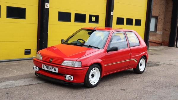 1994 Peugeot 106 Rallye For Sale (picture 7 of 93)