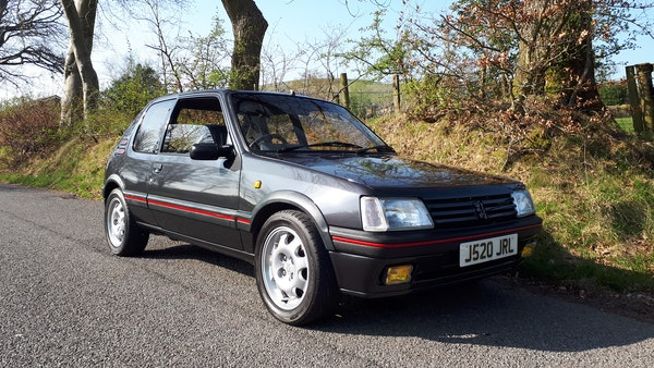 1991 Peugeot 205 GTI 1.9 For Sale (picture 1 of 62)