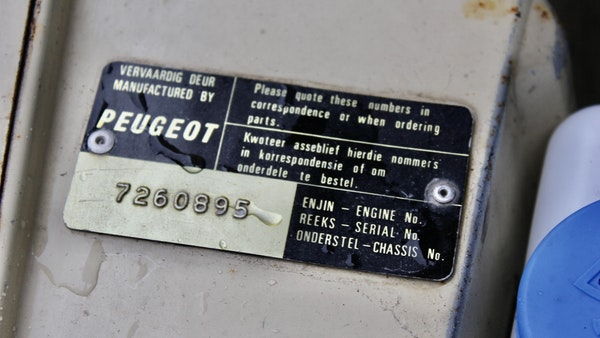 1974 Peugeot 404 For Sale (picture 63 of 71)