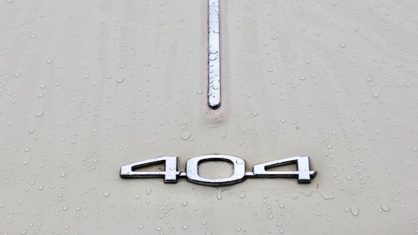 1974 Peugeot 404 For Sale (picture 54 of 71)