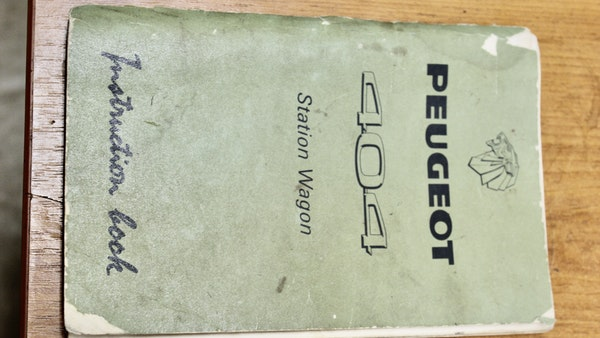 1974 Peugeot 404 For Sale (picture 72 of 74)