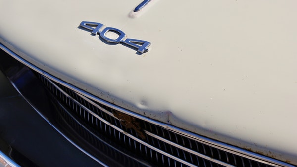1974 Peugeot 404 For Sale (picture 55 of 74)