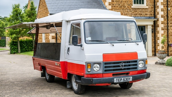 1982 Peugeot J9 Catering Van For Sale (picture 1 of 156)