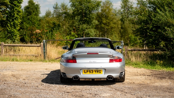 2003 Porsche 911 (996) Turbo Cabriolet For Sale (picture 28 of 91)