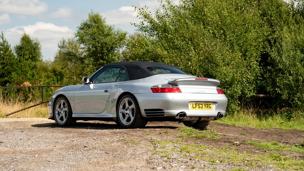 2003 Porsche 911 (996) Turbo Cabriolet For Sale (picture 27 of 91)