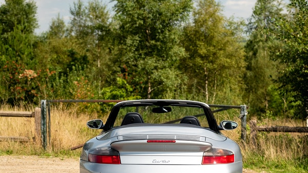 2003 Porsche 911 (996) Turbo Cabriolet For Sale (picture 23 of 91)