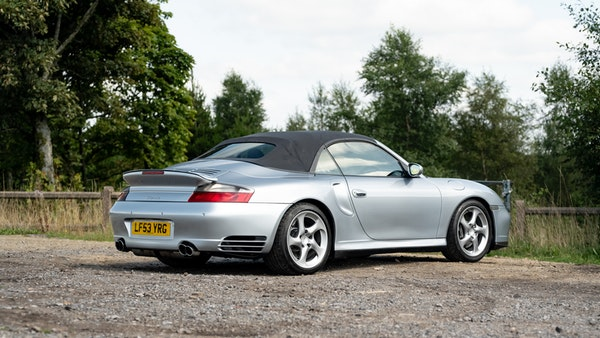 2003 Porsche 911 (996) Turbo Cabriolet For Sale (picture 31 of 91)
