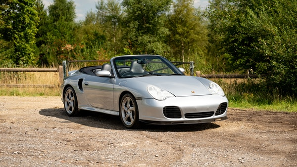 2003 Porsche 911 (996) Turbo Cabriolet For Sale (picture 4 of 91)