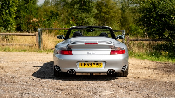 2003 Porsche 911 (996) Turbo Cabriolet For Sale (picture 25 of 91)