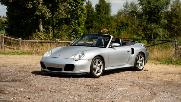 2003 Porsche 911 (996) Turbo Cabriolet For Sale (picture 1 of 91)