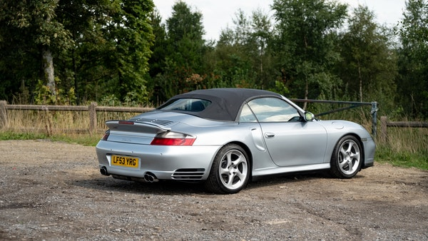 2003 Porsche 911 (996) Turbo Cabriolet For Sale (picture 29 of 91)